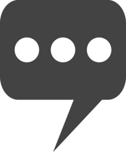 Chat 3 Glyph Icon