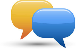 Chat Bubbles 2 Lite Communication Icon