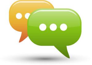 Chat Bubbles 3 Lite Communication Icon