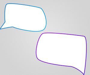 Chat Bubbles Background
