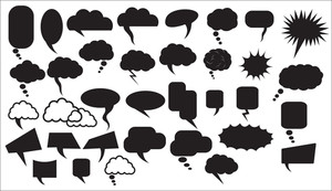 Chat Bubbles Vectors