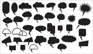 Chat Bubbles Vectors