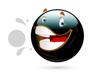 Cheerful Funny Smiley
