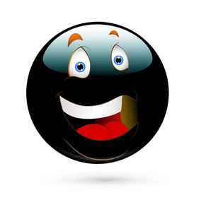 Cheerful Smiley Vector