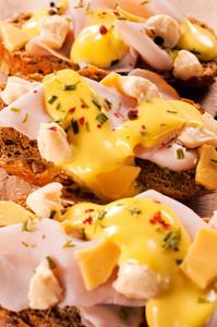 Cheese Bruschettas