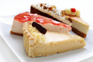 Traditional Cheese Cake Slice