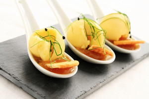 Cheese Canape Appetizer