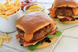 Cheese Filled Birger Sliders