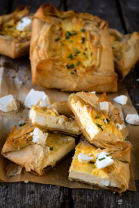 Cheese Pastry Slices