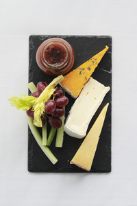 Cheese Plate With Fruit