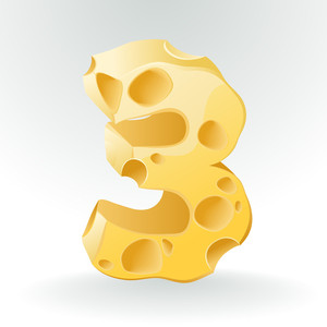 Cheese Vector Abc. Figure 3.