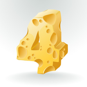 Cheese Vector Abc. Figure 4.
