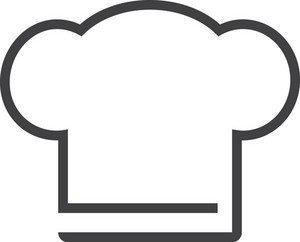Chef Minimal Icon