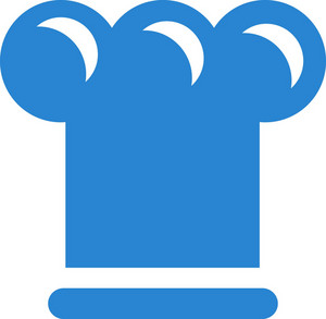 Chefs Hat Simplicity Icon