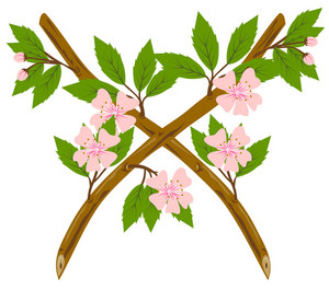 Cherry Blossom Flower Branch