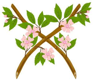 Cherry Blossom Flower Branch