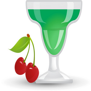 Cherry Cocktail Icon
