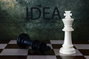 Chess And Idea Text