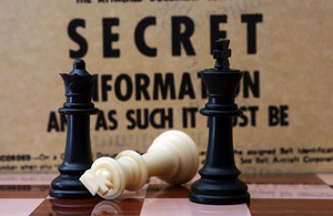 Chess And Secret Concept