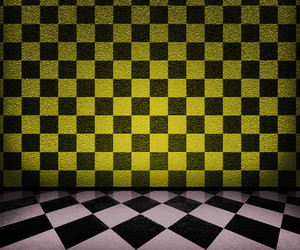 Chessboard Interior Background