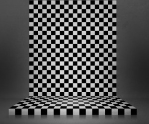Chessboard Interior Stage Background