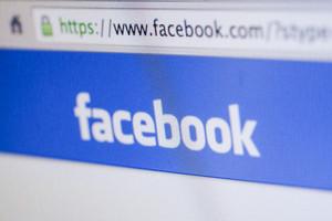 CHIANG MAI, THAILAND - OCTOBER 01, 2014: Facebook logo and menu bar on web browser.