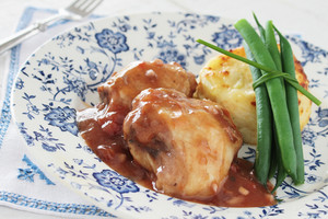 Chicken Chasseur Plated Meal