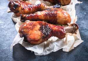 Chicken Drumsticks With Honey