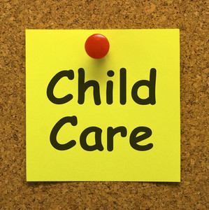 Child Care Note As Reminder For Kids Daycare