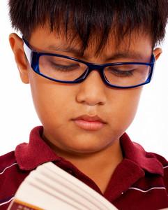 Child Improving His Education
