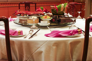 Chinese Asian restaurant set