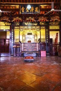 Chinese Shrine inside