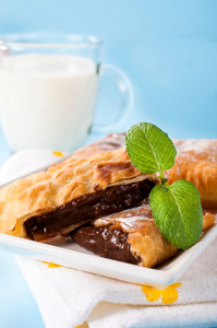 Chocolate Cream In Pastry