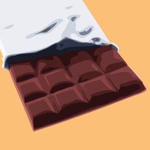 Chocolate  Illustration.