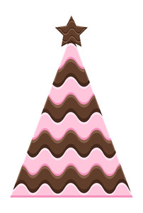 Chocolaty Christmas Tree Design