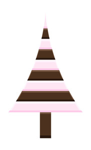 Chocolaty Christmas Tree