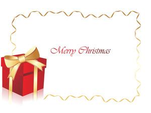 Christmas Birthday Gift Box Frame