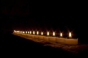 Christmas Candles 153