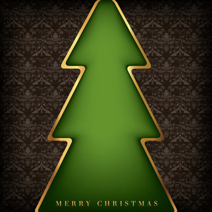 Christmas Card Background Design