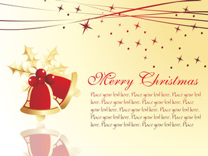 Christmas Composition Vector Illustration