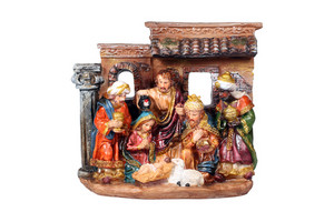 Christmas Crib.