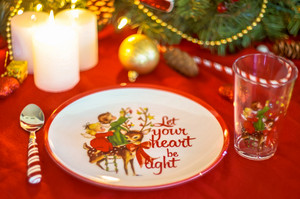 Christmas Decoration Dinnerware Set