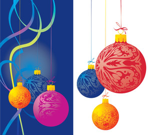 Christmas Decoration. Vector Illustration