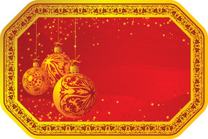 Christmas Decoration. Vector Illustration