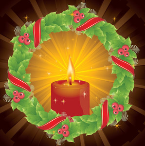 Christmas Decoration. Vector.