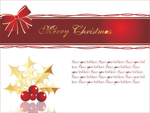 Christmas Decoration With Glossy Ball