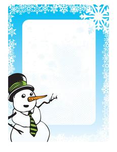 Christmas Design - Snowman