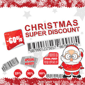 Christmas Discount Banner