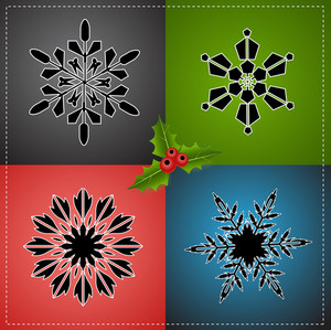 Christmas Elements Vectors