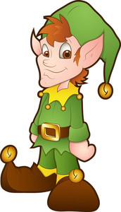 Christmas Elves - Cartoon Character